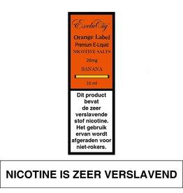 Exclucig Exclucig Orange Label E-liquid Banana 20 mg Nicotinezout