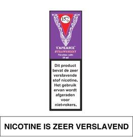 Vaprance Vaprance Purple Label E-liquid Strawberry 15 mg Nicotinezout