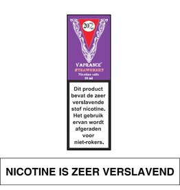 Vaprance Vaprance Purple Label E-liquid Strawberry 20 mg Nicotinezout