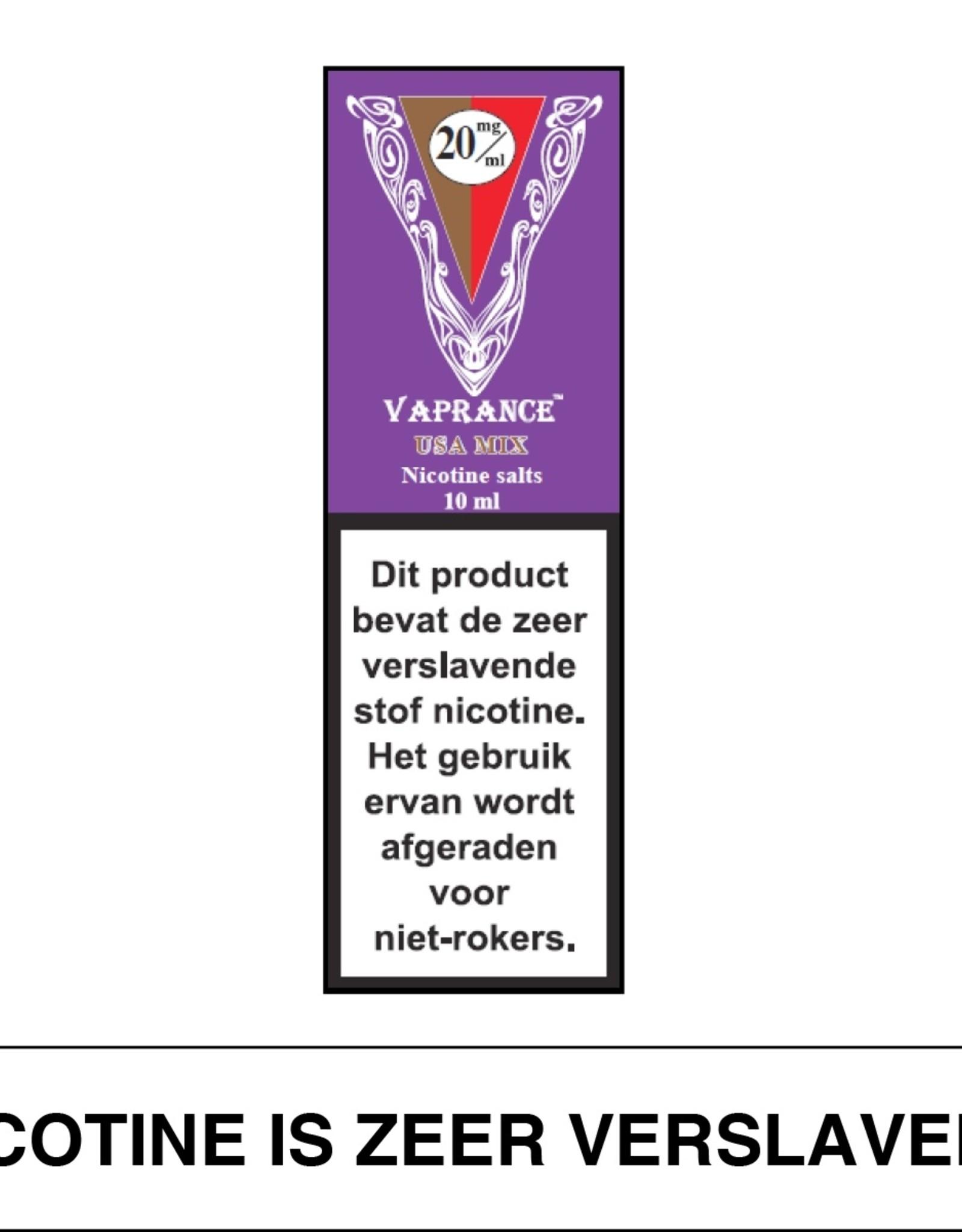 Vaprance Vaprance Purple Label E-liquid USA Mix 20 mg Nicotinezout