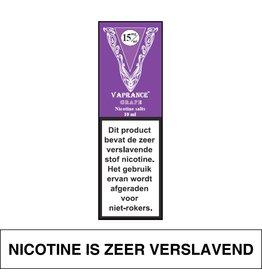 Vaprance Vaprance Purple Label E-liquid Grape 15 mg Nicotinezout