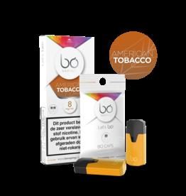 Bo Vaping Bo Vaping Caps American Tobacco 8 mg Nicotine 2 stuks