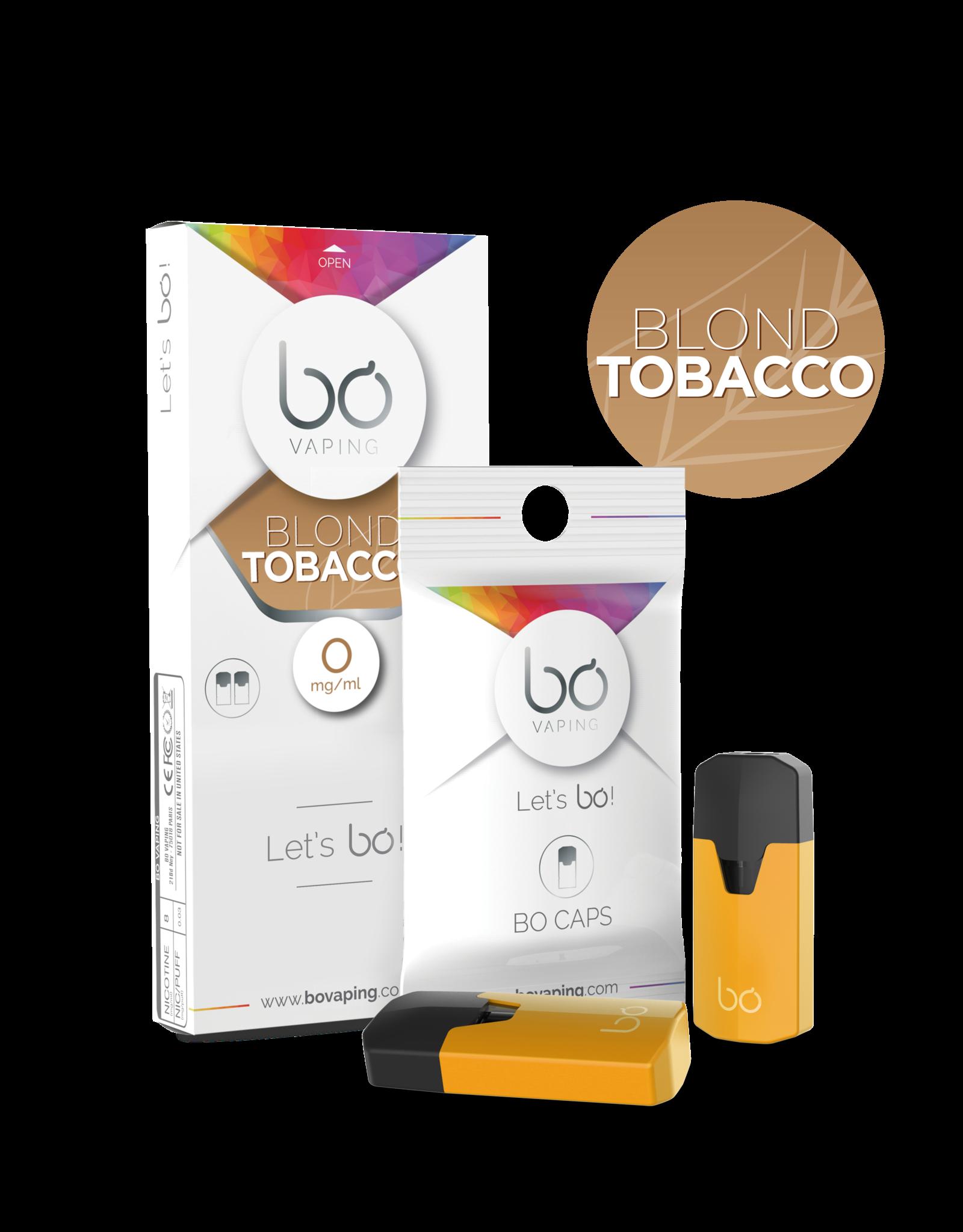 Bo Vaping Bo Vaping Caps Blond Tobacco 0 mg Nicotine 2 stuks