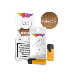 Bo Vaping Bo Vaping Caps Complex Tobacco 16 mg Nicotine 2 stuks