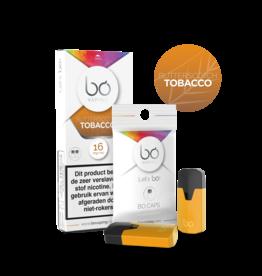 Bo Vaping Bo Vaping Caps Butterscotch Tobacco 16 mg Nicotine 2 stuks