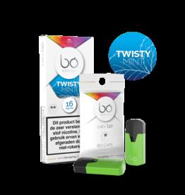 Bo Vaping Bo Vaping Caps Twisty Mint 16 mg Nicotine 2 stuks
