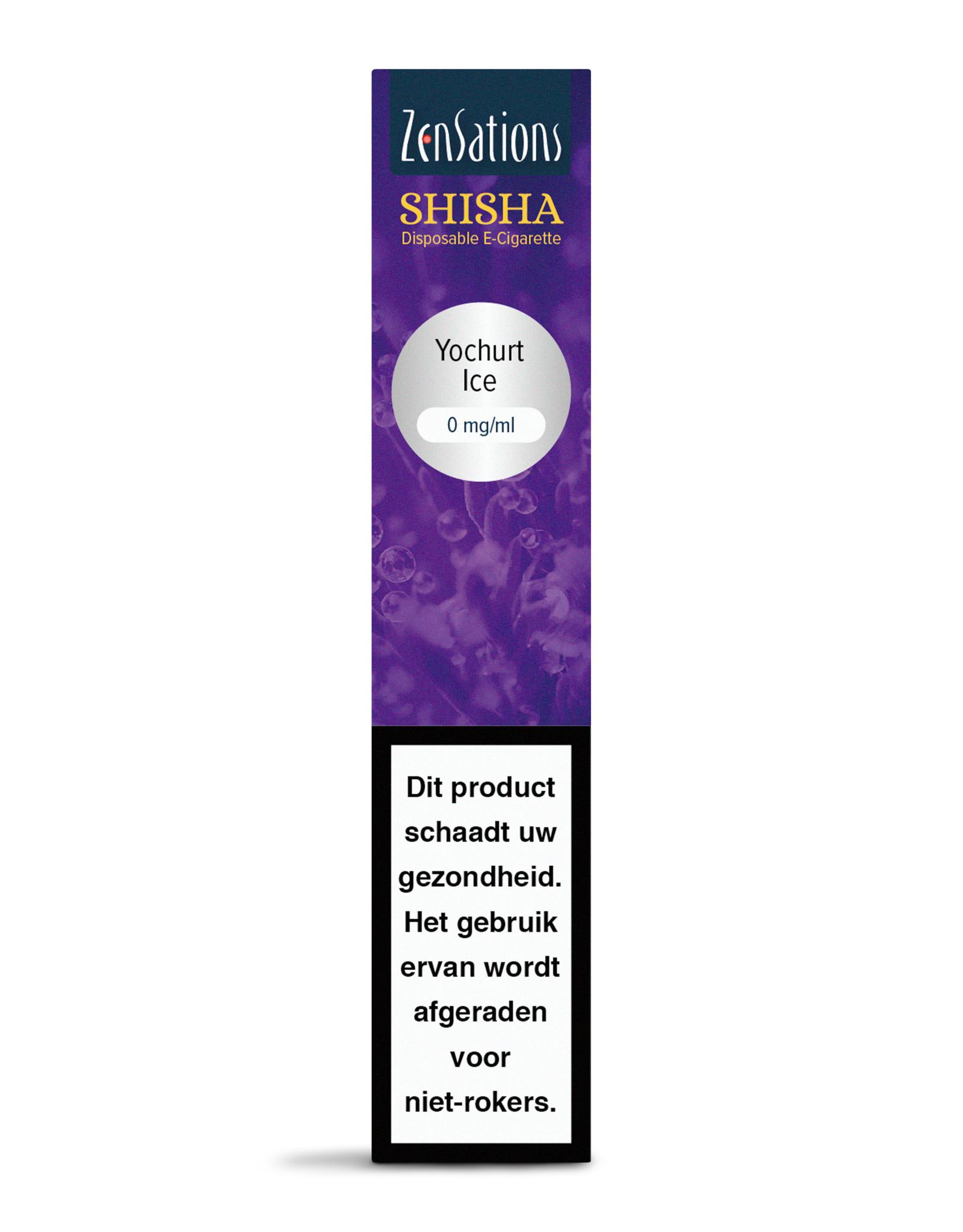 Zensations Zensations Shisha disposable E-Sigaret Yoghurt Ice