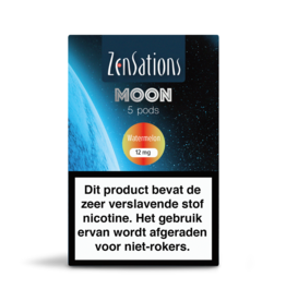 Zensations Zensations Moon Pods Watermelon 12Mg 5Pcs