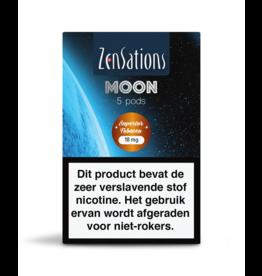 Zensations Zensations Moon Pods Superior Tobacco 18Mg 5Pcs