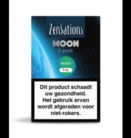 Zensations Zensations Moon Pods Menthol 0Mg 5Pcs