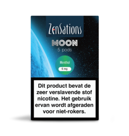 Zensations Zensations Moon Pods Menthol 6Mg 5Pcs