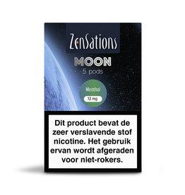 Zensations Zensations Moon Pods Menthol 12Mg 5Pcs