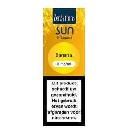 Zensations Zensations Sun E-Liquid Banana 0Mg