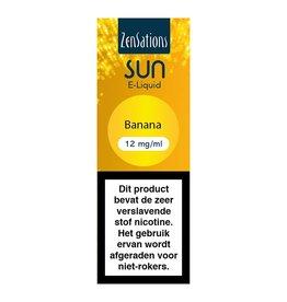 Zensations Zensations Sun E-Liquid Banana 12Mg