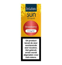 Zensations Zensations Sun E-Liquid Strawberry 3Mg
