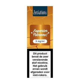 Zensations Zensations E-Liquid Superior Tobacco 3Mg