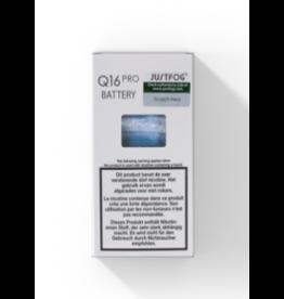 Justfog Justfog Q16 Pro Battery 900mAh Silver