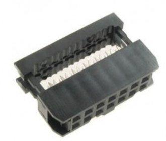 10 polige connector voor lintkabel
