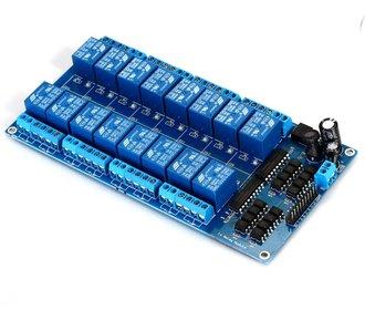 16 kanaals relais board