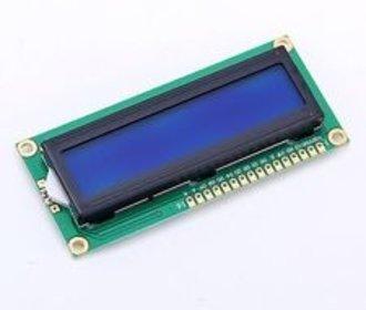 16 x 2 HD44780 LCD display