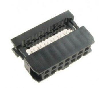 20 polige connector voor lintkabel
