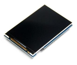 3.5 inch Display shield tft  voor Arduino Mega en Uno