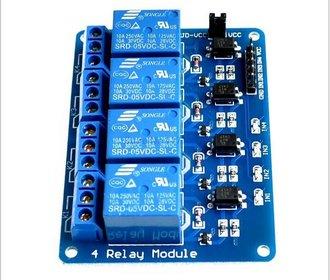 4 kanaals relais board