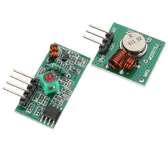433 MHz transmitter receiver