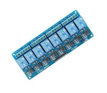 8 kanaals relais board 5vdc