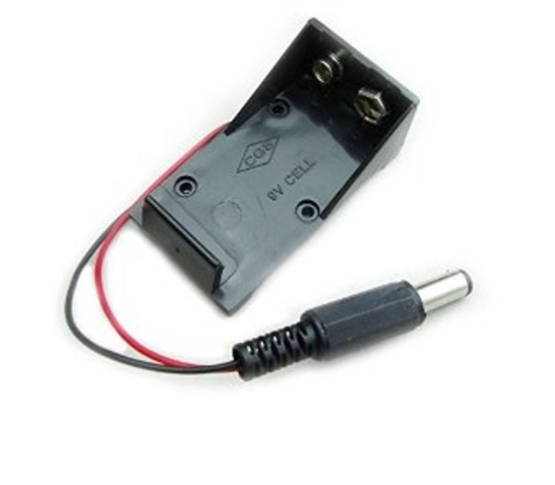 9v batterij houder