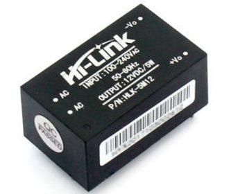 ac 100v-240v naar dc 3,3V 1A  transformator printmontage