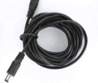 adapter verlengkabel 5.5 x 2.1mm  3 meter