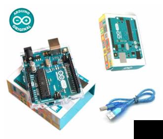 Arduino Uno R3 origineel incl. kabel