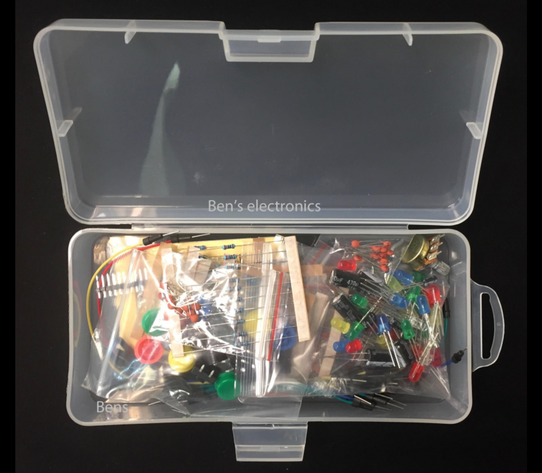 Assortiment componenten set kit
