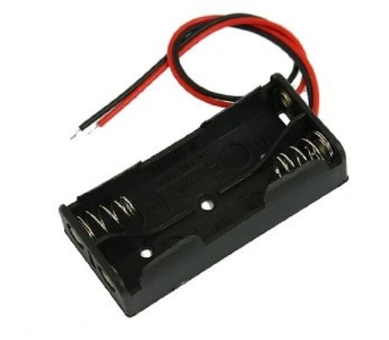 Batterij houder 2 x AAA batterij