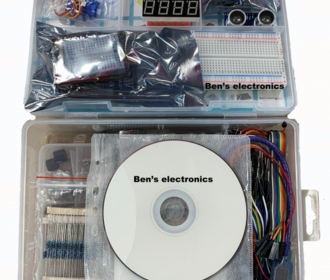 Ben's electronics Learning kit incl. cd