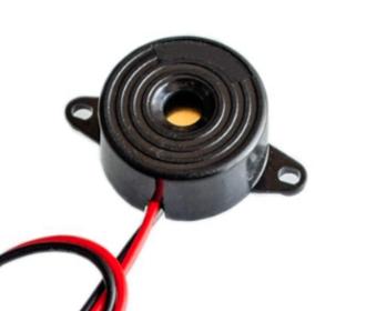 Buzzer zwart continu geluid 3-24V DC 3- 36mA