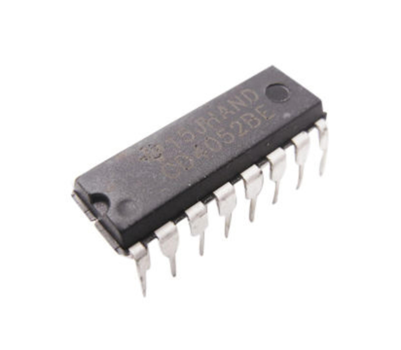 CD4052BE Multiplexer/Demultiplexer IC