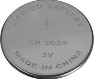 CR2025 Lithium batterij 3V