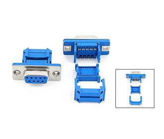 D-sub female connector 9 polig lint kabel