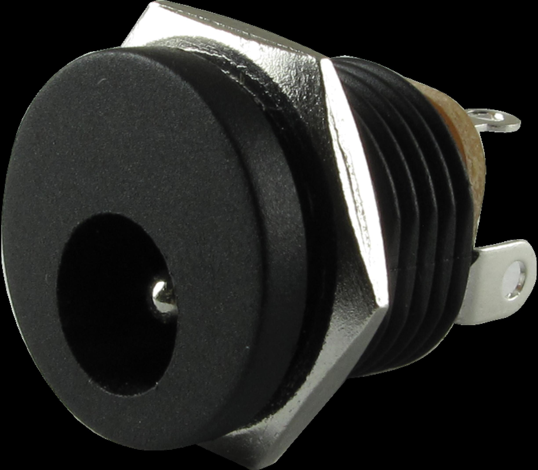 DC Power jack 5.5x2.5 mm inbouw