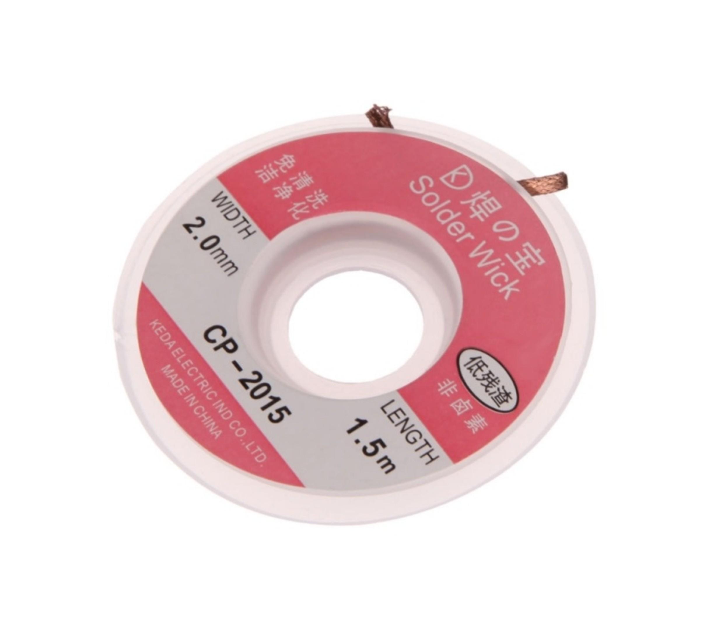 Desoldeer lint 2,0 mm 1.5 M