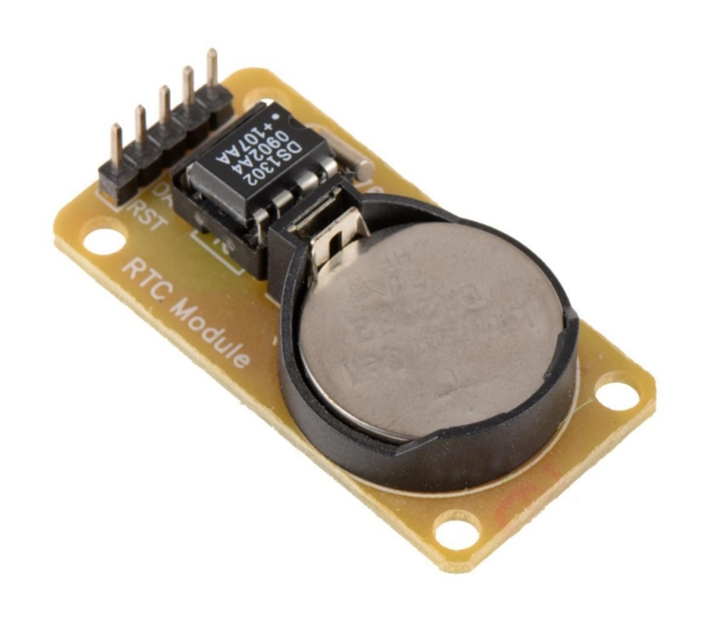 DS1302 klokmodule RTC incl batterij