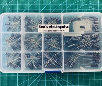 Elektrolytische condensator  Radiaal set 120 stuks