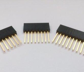 Female header lange pin 6-8-10 pins