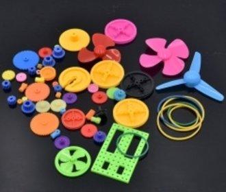 Gekleurde tandwiel propellor set