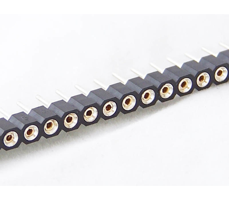 Header female 40 pins te gebruiken als dip socket