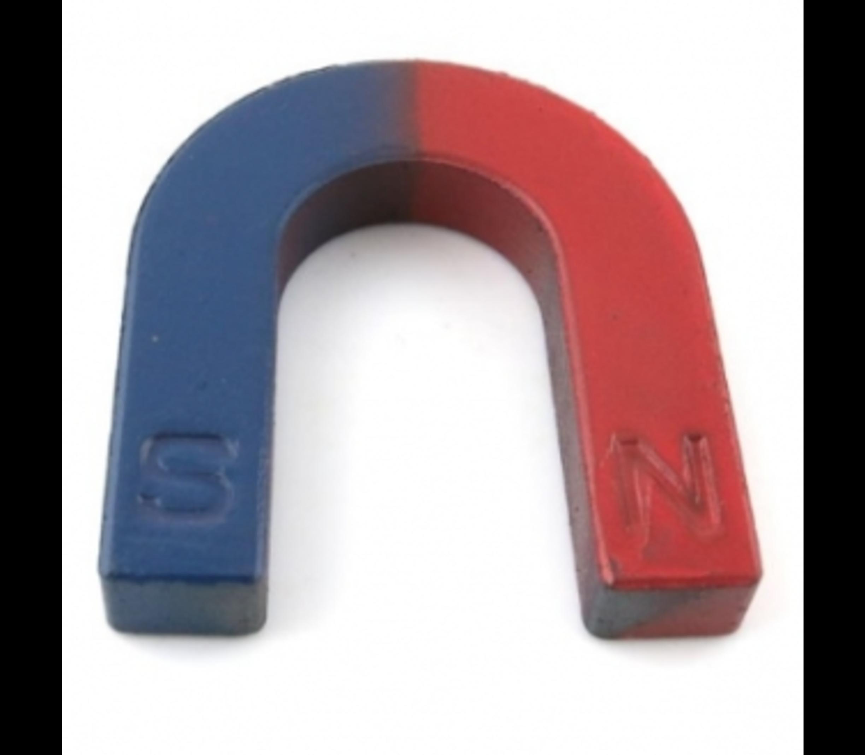 Hoefijzer magneet