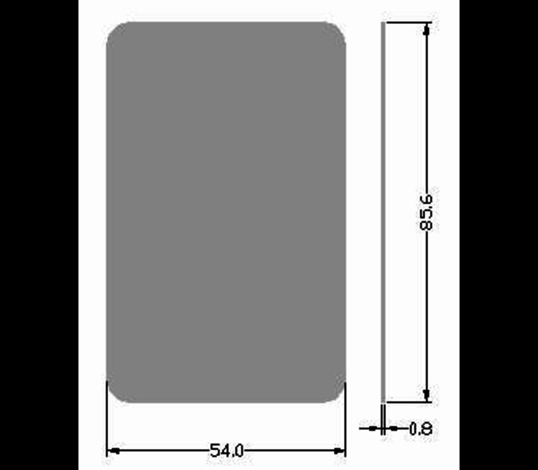 IC Key Card 13.56Mhz RFID