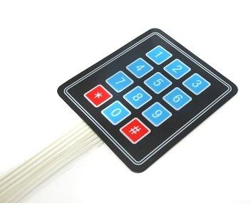 Keypad matrix 3x4